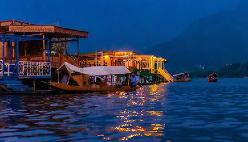DAL LAKE NIGHT VIEW