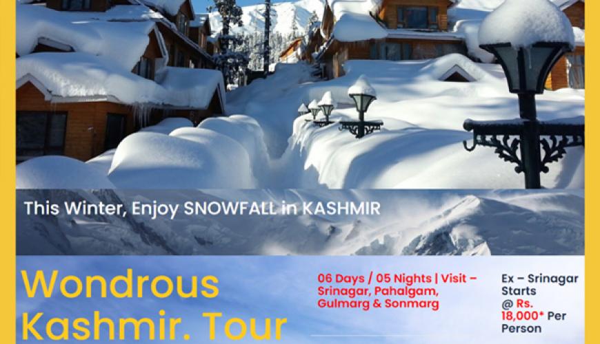 kashmir trip offer